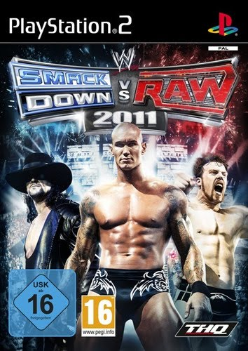 Wwe Smackdown Vs Raw 2011 Ps2 Cover. WWE Smackdown vs RAW 2011 WWE