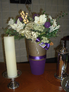 Flower Arrangements for Church Sanctuary