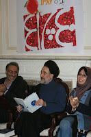 خاتمی در یلدای 87 در جمع چلچراغی ها فال حافظ می گیرد
