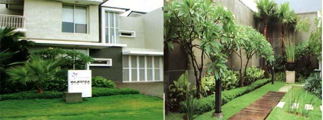 aneka taman model rumah modern