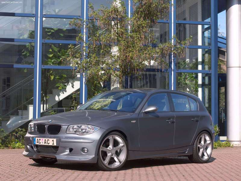 2007 Ac Schnitzer Acs1 Bmw 1 Series Coupe. 2005 AC Schnitzer ACS1 1Series
