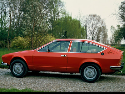 2003 Alfa Romeo Gtv. 1976 Alfa Romeo Alfetta Gtv