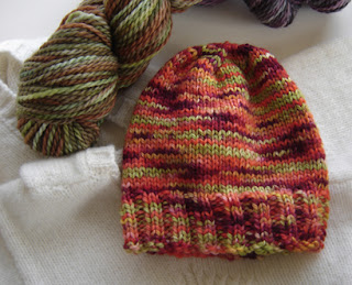 Free Knitting Pattern – Pinwheel Baby Beanie from the Baby hats Free