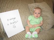 Keegan 2 Months Old