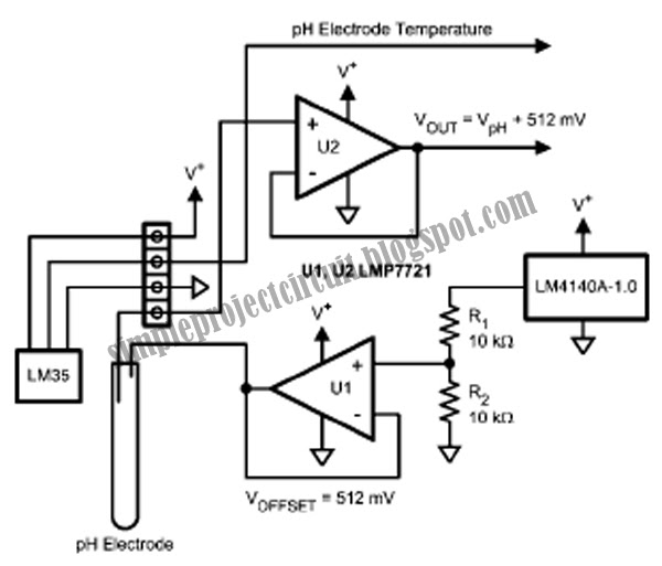 simple project circuit  simple ph