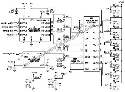 led driver circuit using microcontroller