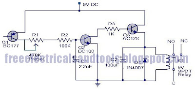 Free Schematic Diagram Fire Alarm Circuit Based On Transistor