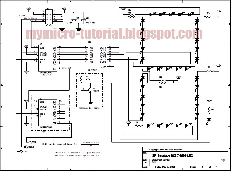 free schematic diagram  spi interface circuit for big 7
