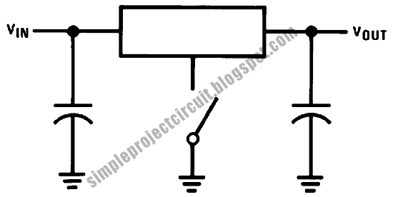 simple project circuit  simple regulator floating ground
