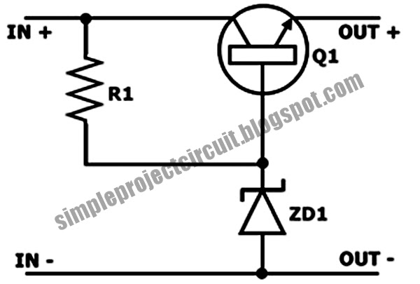 3rd eye  simple series voltage stabilizer circuits