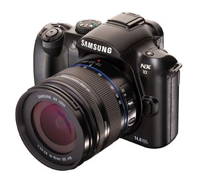 Samsung NX10 digital hybrid camera