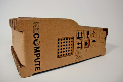 Eco-friendly Recompute Cardboard Computer now in production