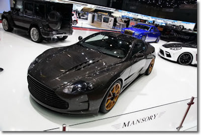 2010 MANSORY CYRUS based on Aston Martin DBS