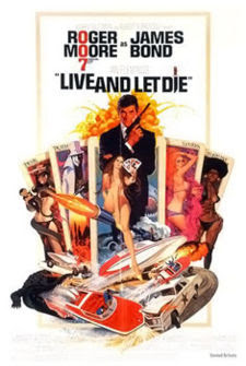 Live and Let Die James Bond Movies and Actors
