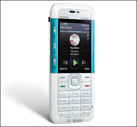 T-Mobile now offers Nokia 5310 Xpress Music in White color