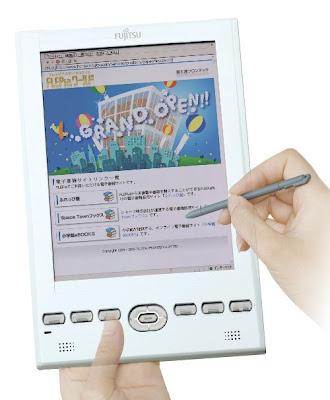 Fujitsu FLEPia first colored e-Book reader shipping April 20th