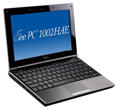 ASUS Aluminum Eee PC 1002HAE