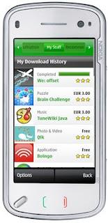 Nokia N97 on Ovi Store
