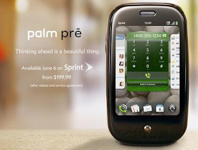 Palm Pre June 6th release