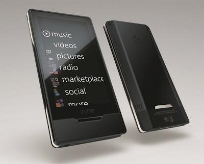 Microsoft Zune HD black color