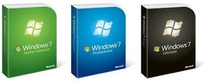 Microsoft Windows 7 operating system