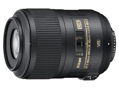AF-S DX Micro Nikkor 85 mm f3.5G ED VR II