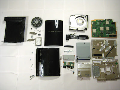 Sony Gadgets Teardown Massacre PS3