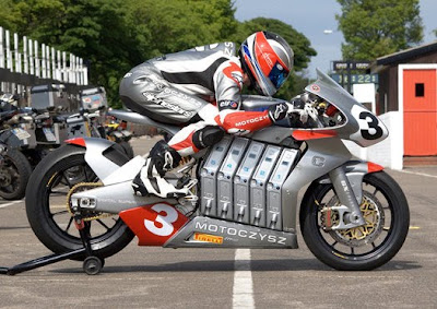 MotoCzysz E1pc world's most advanced electric motorcycle