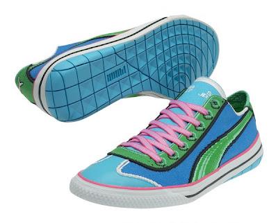 Geekiest Shoes Ever  As Puma 917 Goes 8-bit