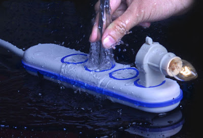The First Shock/Water-proof Power Strip