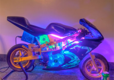 Customized Mini Motorcycle Computer Case