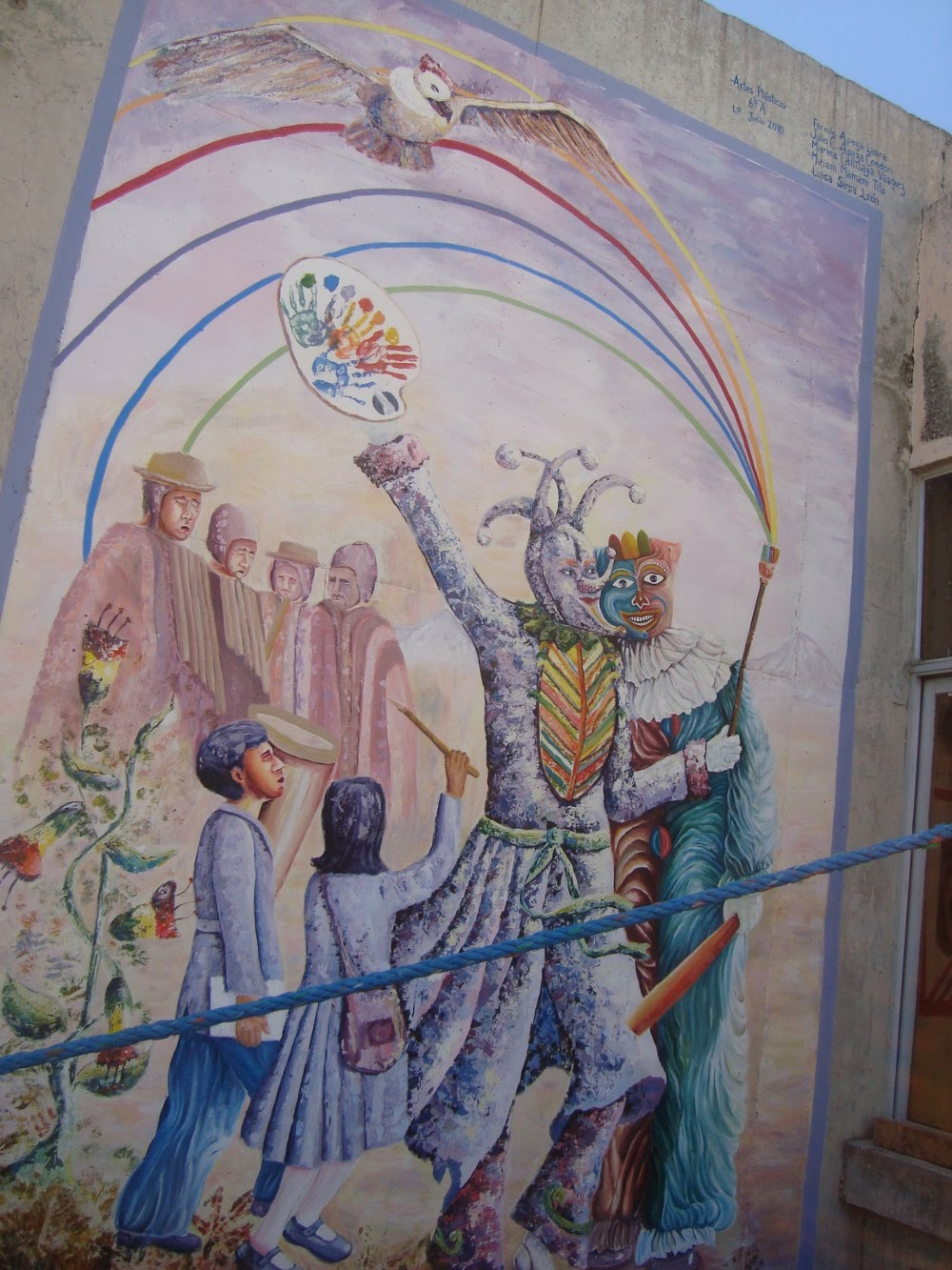 Artemural for Definicion de pintura mural