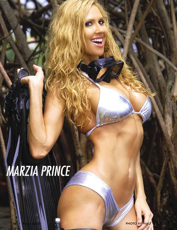 ... Bikini Universe of 2007. After high school, Marzia took aerobics classes ...