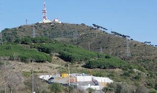 Fort impacte visual en el paisatge de la Vall