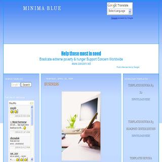 MINIMA BLUE ST-1