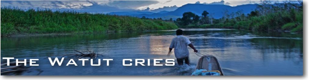 The Watut cries