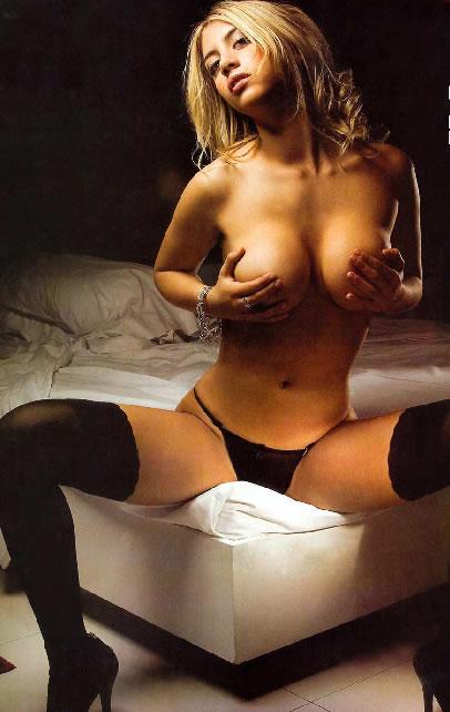 Ella es Wanda Nara. Una modelo argentina y la actual novia del conocido ...