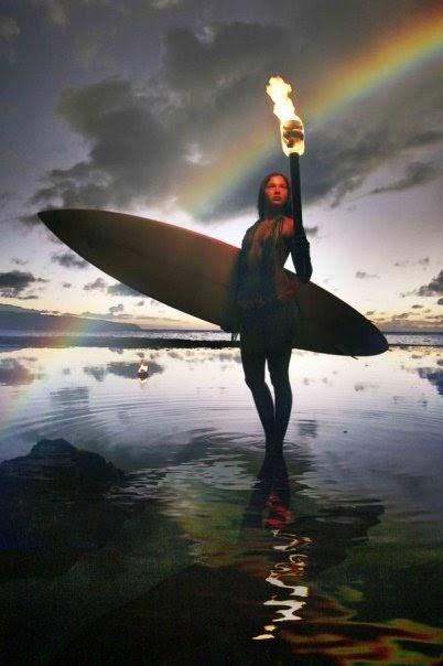 Surfah Girl Big Island Surfer Girl Emily Dudley