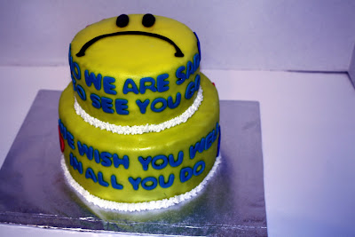 Cake Ideas For A Co Worker Leaving Company | just b.CAUSE
