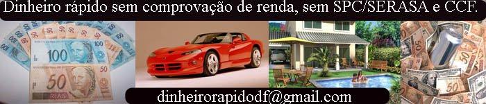 Dinheiro rápido em Brasília DF
