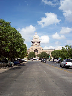 Texas State Capitol at midday