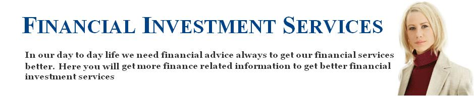 Financial Investment Services