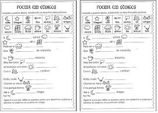 ATIVIDADES DE PORTUGU  S   ENSINO FUNDAMENTAL   CICLO I
