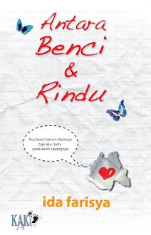 novel antara benci & rindu