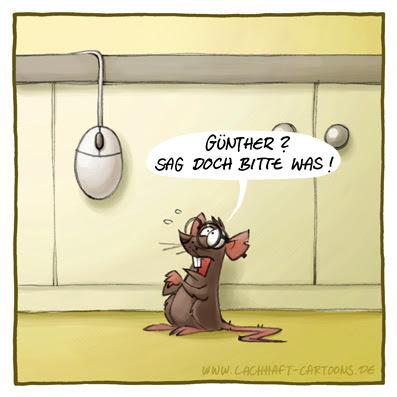 Computer Maus Büro schwarzer Humor erhängt Brille Cartoon Cartoons Witze witzig witzige lustige Bildwitze Bilderwitze Comic Zeichnungen lustig Karikatur Karikaturen Illustrationen Michael Mantel lachhaft Spaß