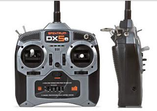 SPEKTRUM DX5E RADIO IMAGES