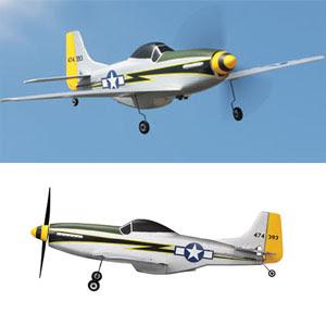 PZ P-51 Ultra Micro 4CH RC Plane IMAGES