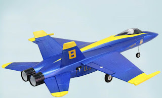 Blue Angel Electric Ducted Fan rc jet images