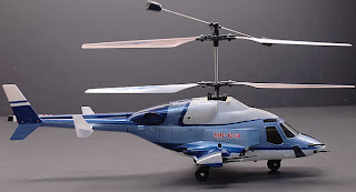 Walkera Blue Airwolf RC Helicopter Images