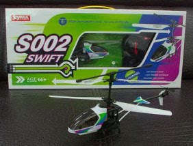 Syma S002 RC Helicopter Images